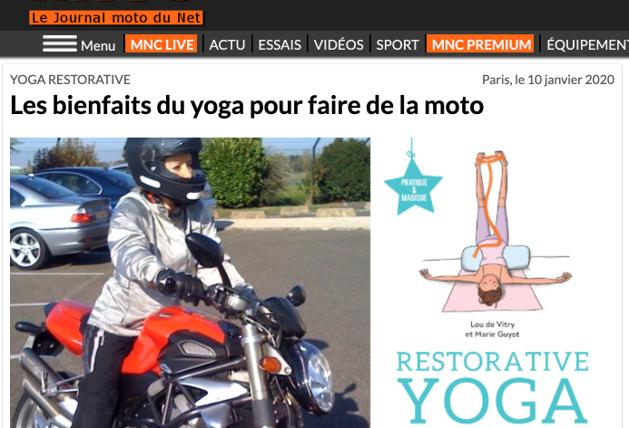 Les bienfaits du Yoga à moto