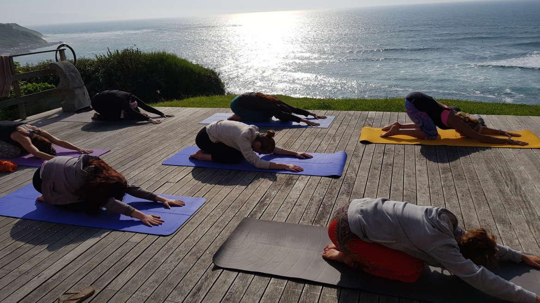 Stage d'Ashtanga Yoga à Guéthary – avec Caroline Boulinguez